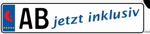 Ab jetzt inklusiv Logo